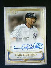 Gary Sheffield 2021 Topps Tier One Auto #242/300 ~Yankees
