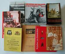 Boeken Oud Amsterdam (8 stks)
