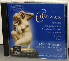 Reference Recordings 2-CDs RR-2104: CHADWICK - Serebrier, Czech - USA 2002 SS