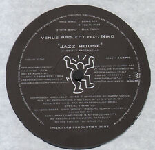 VENUS PROJECT FEAT. NIKO - Jazz House - 2003 MOVIN' - MOVIN' 006