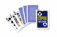 COPAG PLAYING CARDS BRIDGE SIZE STANDARD REGULAR INDEX 100% PLASTIC SINGLE DECK