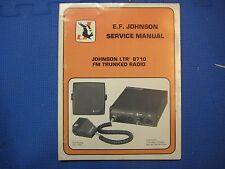 Johnson Service Manual 8710 TRUNKING RADIO