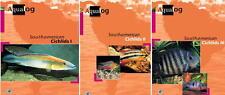 AQUALOG, South american Cichlids Volumes 1 + 2 + 3