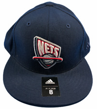 Brooklyn Nets NBA Adidas  Size 8 Fitted Hat Brand New