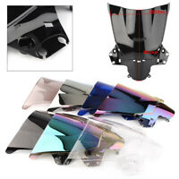 Motorcycle Double Bubble Front Windshield Screen For Honda CBR250R 2011-2013 12