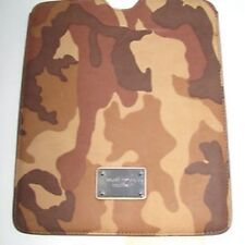 NEW-MICHAEL KORS GRAYSON LUGGAGE/CAMOUFLAGE LEATHER IPAD CASE/COVER/SLEEVE+TAG
