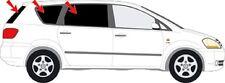 Autosonnenschutz Scheibentönung Verdunklung TOYOTA Avensis Verso Bj. 2001- 05