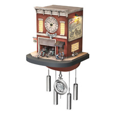 The  00006000 Bradford Exchange Cuckoo Clock: Freedom Choppers Motorcycle Garage