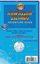 Hawaiian Islands Guide Map Waterproof by Franko Maps Oahu, Maui, Hawaii, Kauai