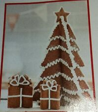Christmas set of 7: 3D Cookie Cutters Tree with Star and Presents