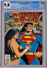 Wonder Woman #88 DC 1994 CGC 9.8 Brain Bolland Cover Superman Appearance