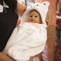Baby Bath Towel Blanket Kids Bathrobe Cute Animal Cartoon Babies  Toddler