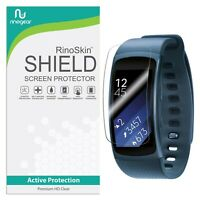 [8-PACK] For Samsung Gear Fit2 Screen Protector RinoGear Lifetime Replacements