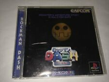 USED PS1 PlayStation 1 Rockman DASH 55080 JAPAN IMPORT