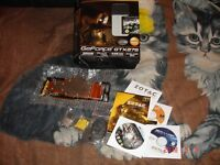 ZOTAC NVIDIA GeForce GTX 275 with full cover waterblock+accessories+game