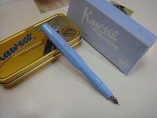 〝RARE〞 Kaweco Serenity Blue SPECIAL EDITION for Taiwan Sport Fountain Pen F Nib