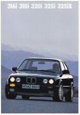 BMW 3 3er E30 316 318 320 325 iX DTM Youngtimer Prospekt Brochure 1988 89