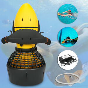 300W Electric Underwater Scooter Water Sea Dual Speed Propeller Diving Scooter