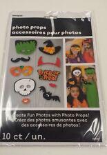 HALLOWEEN Photo Booth Props Set of 10 Halloween Party  - Create Fun Photos!
