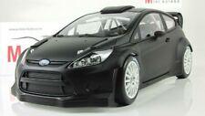 Scale model car 1:18  Ford Fiesta RS WRC, 2011 (Matt Black)