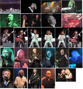 100 Magnum colour concert photos 1980 2005/07/08/09