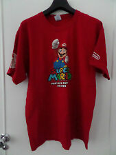 SUPER MARIO BROTHERS 25TH ANNIVERSARY NINTENDO LICENSED T-SHIRT LARGE NEW