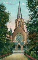 Ansichtskarte Karlsruhe Christus-Kirche 1916 (Nr.9217)