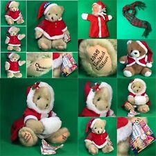 Dakin Plüsch Teddy   Weihnachtsteddy  #