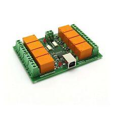 USB-RELAIS-KARTE, 8 Relais relays / USB relay board 12V
