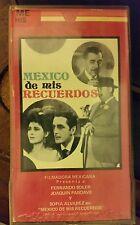 MEXICO DE MIS RECUERDOS. SOLER, PARDAVE, ALVAREZ.  RARE SPANISH VIDEO