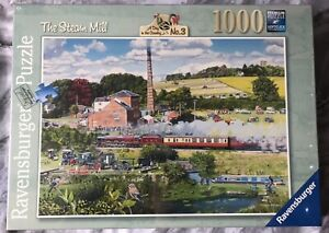 Ravensburger The Steam Mill 1000 Piece Puzzle