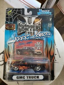 NEW Muscle Machines West Coast Choppers Jesse James GMC Truck 1:64 Diecast