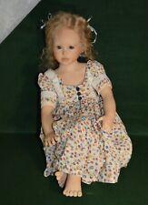 "Rare Heidi Plusczok Puppen Design ""Annalena"" Doll_Only Five of These Dolls Made!"