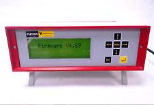 FUTEK IBT100 BENCH TOP DISPLAY/ SENSOR INPUT 0.5 mV/V - 3.5 mV/V, ±10VDC 115V AC