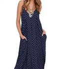 grande taille femme été Boho Long Maxi Robes soirée plage robe de soleil S-4XL