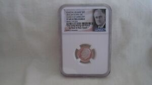 2015 W Silver 10 Cent Proof NGC PF69 Ultra Cameo March of Dimes