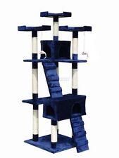 Tiragraffi e strutture blu per gatti