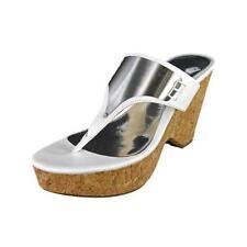 Sandali e scarpe bianche tessile per il mare da donna