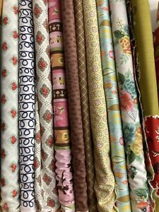6 Colourful Lucky Dip Fat Quarters , Moda , Quilting