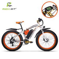 RICHBIT elettrico bicicletta motore1000W 48V cruiser bici elettrica Fat ebike 26