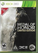 Medal of Honor -- Limited Edition (Microsoft Xbox 360, 2010)