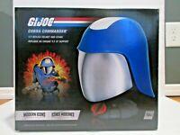 G.I. Joe Hasbro Modern Icons 1:1 Cobra Commander Helmet Lifesize Replica