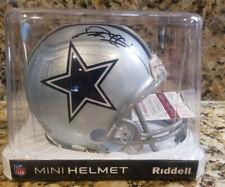 Deion Sanders Autographed Mini Helmet Dallas Cowboys Jsa Authentic Black Auto