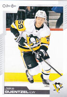 20/21 OPC...JAKE GUENTZEL...CARD # 206...PENGUINS...FREE COMBINED SHIPPING