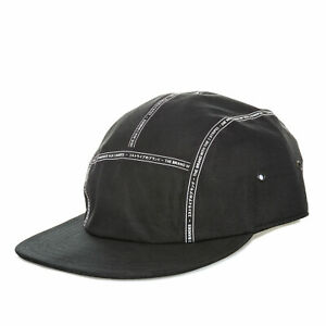 adidas Mens NMD Adjustable Strap One Size Fits Most Flat Brim Cap in Black