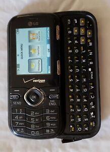 Vintage Retro Verizon Cosmos LG Model LG-VN250  Slide Style Cell Phone Working