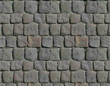 16 SHEETS EMBOSSED BUMPY  21x28cm  paper SCALE 1//12 flagstone rock  1//12  g8u6