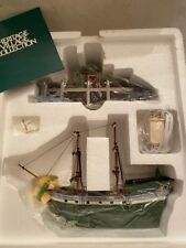 "Dept 56 Heritage Collection 1998 ""The Emily Louise"" Retired 2000 Brand New"