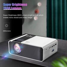 LED Mini Vidéo Projecteur 1080P Home Cinéma USB/SD/AV/HDMI Full HD Multimedia