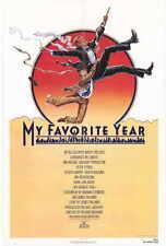 MY FAVORITE YEAR Movie POSTER 27x40 Peter O'Toole Mark Linn-Baker Joseph Bologna